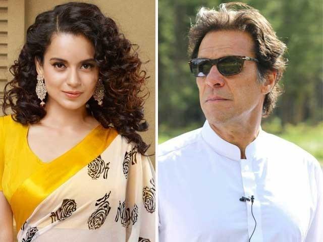 امید کرتی ہوں کہ عمران خان دونوں ملکوں کے تعلقات بہتر بنانے کے اقدامات کریں گے، کنگنا رناوت فوٹو:فائل