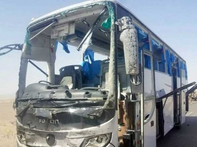 زخمیوں میں 2 سیکیورٹی اہلکار، 2 غیرملکی اور 2 مقامی ملازمین شامل ہیں۔ فوٹو:انٹرنیٹ