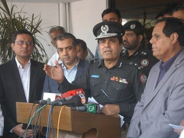 کوشش ہے کہ جرم ہونے سے پہلے ہی جرم کرنے والوں کو تنگ کیا جائے، کراچی پولیس چیف :فوٹو:فائل