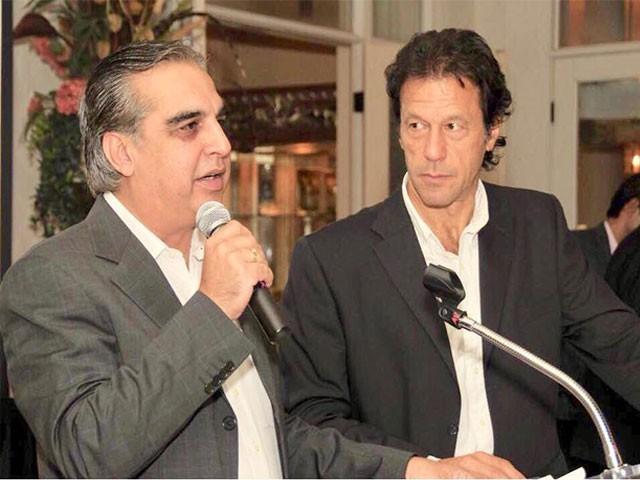 عمران اسماعیل کراچی سے رکن اسمبلی بھی منتخب ہوئے تھے،فوٹو: فائل