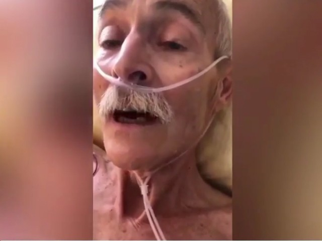 بوڑھے شخص کی اسلام قبول کرنے کی ویڈیو سوشل میڈیا پر وائرل ہوگئی (فوٹو: اسکرین گریب)