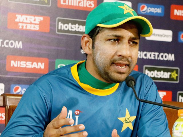 چیمپئنز ٹرافی کی طرح بھارت کے خلاف کامیابی حاصل کرنا چاہیں گے،سرفراز احمد۔ فوٹو: فائل