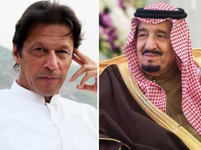 شاہ سلمان اور ولی عہد نے پیغام میں پاکستان کی خوشحالی اورعمران خان کی صحت کیلیےدعا کی فوٹو:فائل