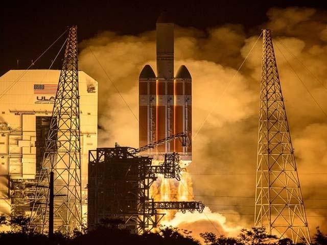 خلائی تحقیقی طیارے کو اب تک کے سب تیز ترین رفتار والے راکٹ کے ذریعے بھیجا جا رہا ہے۔ فوٹو : ناسا