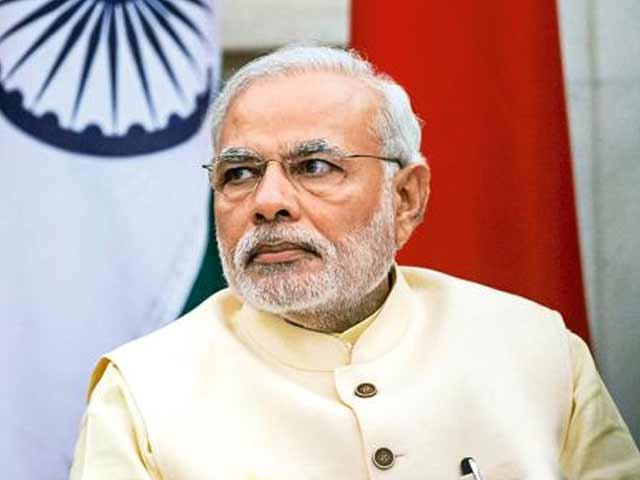 پاکستان اور چین سمیت تمام پروسی ممالک سے خوشگوار تعلقات چاہتے ہیں۔ مودی۔ فوٹو : فائل