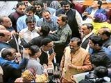 پاکستان پیپلز پارٹی کے ارکان ایوان میں لاتعلق ہوکر بیٹھے رہے فوٹو: سوشل میڈیا
