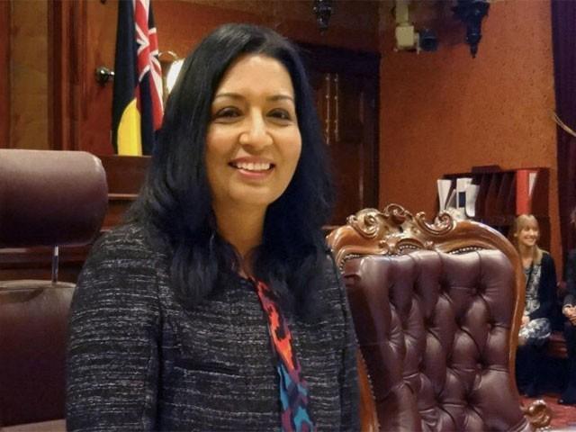 ڈاکٹر مہرین  اس سے قبل نیو ساؤتھ  ویلز پارلیمنٹ کی رکن بھی رہ چکی ہیں،فوٹو: ٹوئٹر