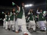 افتتاحی تقریب کا شام7 بجے آغاز،رضوان سینئر پرچم اٹھائیں گے۔ فوٹو: رائٹرز