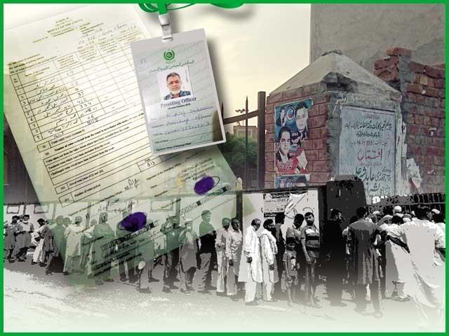 فیصل آباد کے ''گدھا خانے'' میں بننے والے حساس ترین پولنگ اسٹیشن کے پریزائڈنگ آفیسر کی دل چسپ روداد۔ فوٹو: فائل