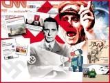 مغربی میڈیا اور سیاست کی فریب کاریوں اور دروغ گوئی کی تیکنیکوں سے آشنا کرتی ایک دل چسپ تحریر۔ فوٹو: فائل