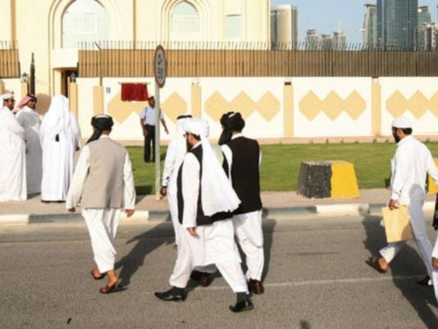 امریکا کی جانب سے مذاکرات کے دوسرے مرحلے کی تاریخ کا انتظار کررہے ہیں،طالبان رہنما فوٹو:فائل