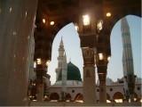 آپؐ نے مدینہ کی شہری ریاست کے قیام کے اعلان کے وقت سب سے پہلا کام مسجد کی بنیاد رکھنے کا کیا تھا۔ فوٹو : فائل