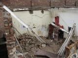 کمرے کی چھتبارش کے باعث گری فوٹو:فائل