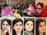 ستم ظریفی ہے کہ پاکستان کی ''شاہی شہزادیاں'' پارلیمنٹ میں عورتوں کی نمائندہ بن کر سرکاری مراعات کے صرف مزے لوٹنا جانتی ہیں مگر ان مسائل سے نا آشنا ہیں جو ایک عام پاکستانی عورت کو درپیش ہیں۔ (فوٹو: فائل)