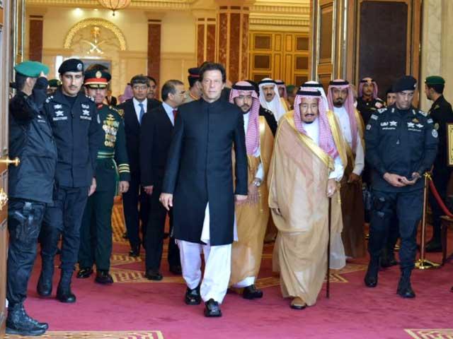 وزیر اعظم نے بھارتی شرانگیزیوں پر بھی سعودی عرب کو اعتماد میں لیا  (فوٹو : سوشل میڈیا)