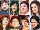 روپ، حمیرا، شازیہ، سائرہ نسیم، شاہدہ منی، ترنم ناز، شوکت علی ، حامد علی، نور، نورالحسن اوروصی شاہ کی ''ایکسپریس''سے گفتگو۔ فوٹو: فائل