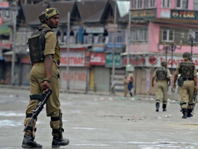 قابض فوج نے ضلع باندی پورہ میں نام نہاد سرچ آپریشن کیا،فوٹو: فائل