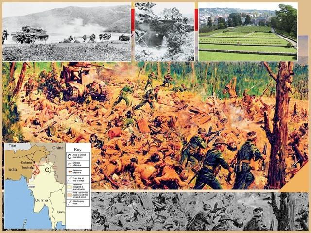 کوہیما کی جنگ کا ماجرا، ایک ایسا معرکہ جسے دنیا فراموش کرچکی ہے۔ فوٹو: فائل
