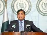 وزیراعظم عمران خان کے خلاف بھارتی وزارت خارجہ کا بیان افسوسناک ہے،ترجمان دفترخارجہ فوٹو : فائل