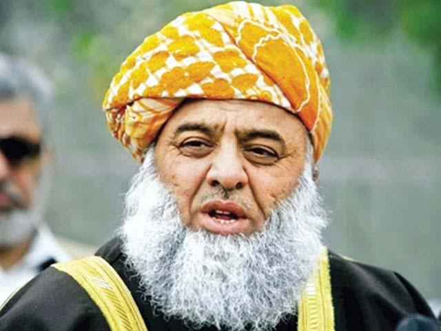 تجویز کرتا ہوں کہ ایک فورس تشکیل دی جائے ایسا نہ ہو کہ عمران خان خود کشی کریں، سربراہ جے یو آئی (ف)۔ فوٹو : فائل