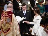 شہزادی یوجین نے ایک عام شہری سے شادی کی۔ فوٹو : برطانوی میڈیا