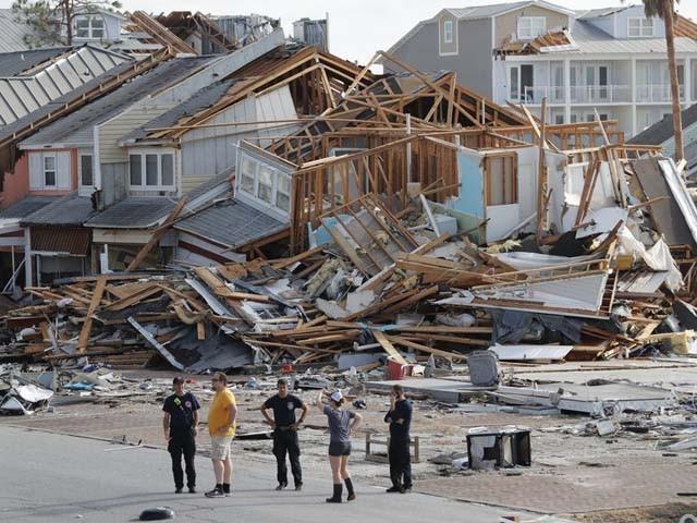 فلوریڈا میں تباہی مچانے کے بعد طوفان نے جارجیا، نارتھ کیرولینا اور ورجینیا پہنچ گیا ہے۔ فوٹو : رائٹرز