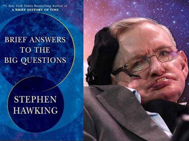 اسٹیفن ہاکنگ کی نئی کتاب منظرِ عام پر آگئی ہے۔ فوٹو: فائل