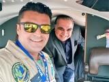 فخر عالم کے جہاز نے کراچی ایئرپورٹ پر لینڈ کیا (فوٹو: سوشل میڈیا)