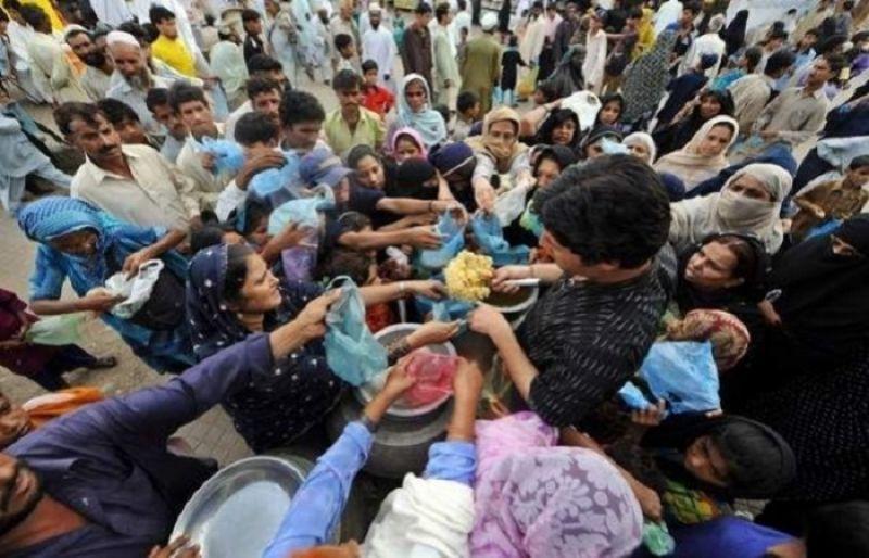 عالمی یوم خوراک پر اقوام متحدہ کے ذیلی ادارے کے تحت حیدر آباد میں تقریب سے تاج حیدر و دیگر کا خطاب۔ فوٹو: فائل
