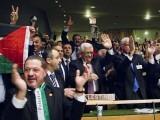 فلسطین کے حق میں 146 ممالک نے ووٹ دیا۔ فوٹو : فائل
