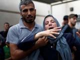 راکٹ حملے میں ایک فلسطینی نوجوان شہید اور اسکول کے 6 کم سن بچے زخمی ہوئے۔ فوٹو: رائٹرز