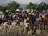 اقوام متحدہ کی رپورٹ میں روہنگیا مسلمانوں کی نسل کشی کا ذمہ دار میانمار فوج کو قرار دیا گیا تھا۔ فوٹو : فائل