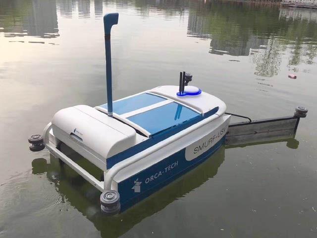 'اورکا روبوٹ' جو پانی صاف کرنے کی کئی ٹیکنالوجیز سے لیس ہے (فوٹو: جیمزڈائسن ایوارڈز)
