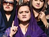 عمران صاحب کے بیان سے سیاسی انتقام کی بو آرہی ہے، مریم اورنگزیب۔  فوٹو:فائل