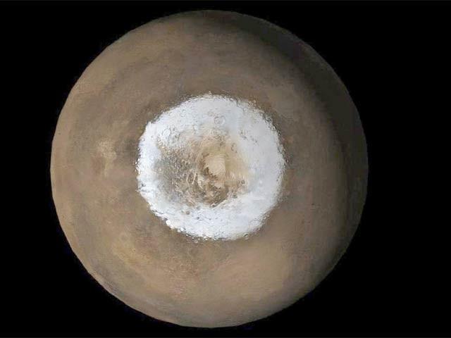 مریخ کی مٹی تلے آکسیجن کی مقدار موجود ہوسکتی ہے (فوٹو: فائل)
