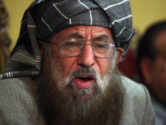 پولیس اب تک مولانا سمیع الحق کے قاتلوں کا سراغ نہیں لگاسکی فوٹو: فائل