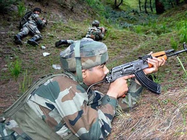 بھارت کو سمجھنا ہوگا کہ امن عمل کی باتیں اور پرتشدد کارروائیاں ایک ساتھ نہیں چل سکتیں۔ فوٹو : فائل
