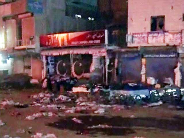 گورنراوروزیراعلیٰ نے دھماکے کا نوٹس لیتے ہوئے متعلقہ حکام سے رپورٹ طلب کرلی (فوٹو : اسکرین گریب )