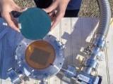 اس سولر پینل سے بجلی کے حصول کے ساتھ ساتھ ایکو سسٹم کو برقرار رکھنے کی کوشش کی گئی ہے۔ فوٹو : سائنس الرٹ