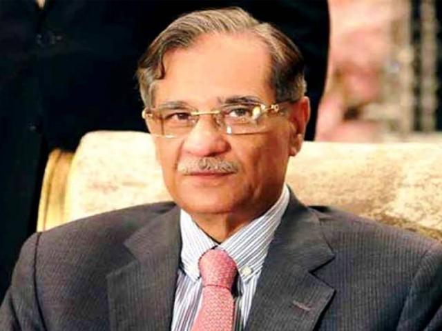 چیف جسٹس پاکستان نے سندھ حکومت سے 10 دن میں رپورٹ طلب کر لی (فوٹو : فائل)