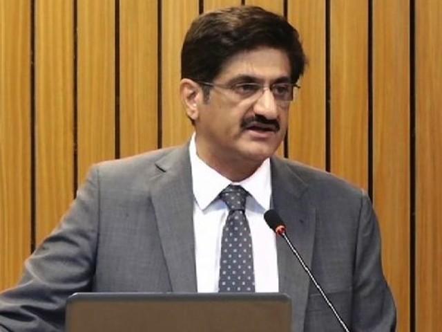 وزیراعلی سید مراد علی شاہ نے وزیراعظم عمران خان اور گورنر سندھ عمران اسماعیل کو خط لکھ دیا۔  فوٹو:فائل