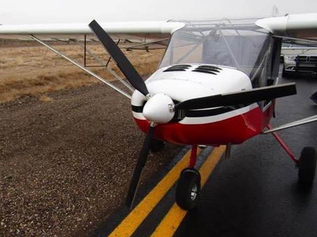 یوٹاہ کے رہائشی نوجوانوں نے ایک طیارہ چرالیا اور اس پر کئی میل پرواز کرنے کے بعد اسے رن وے پر چھوڑ دیا۔ فوٹو: فاکس نیوز