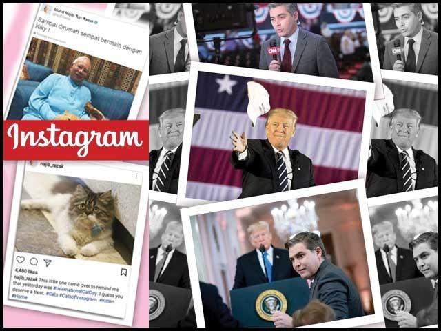موجودہ امریکی صدر ٹرمپ نے تو عہدہ سنبھالنے کے بعد ہی سے میڈیا سے بیر باندھ لیا تھا۔ فوٹو: فائل