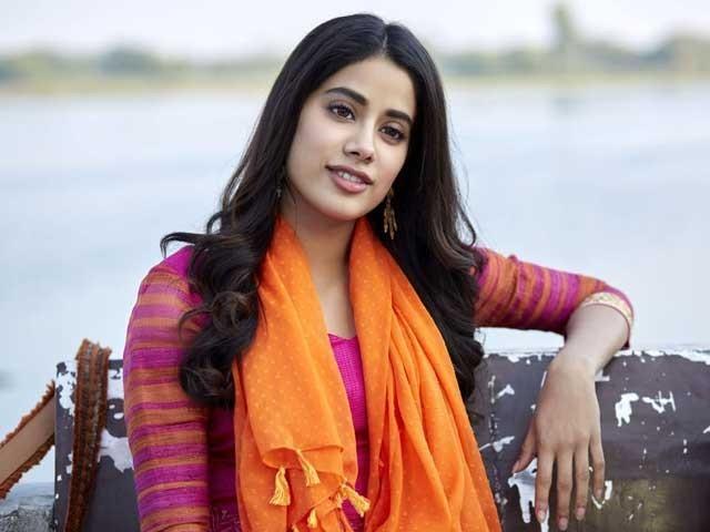 جھانوی کپور نے فلم'تخت'کے لیے اردو سیکھنی شروع کی ہے فوٹوفائل