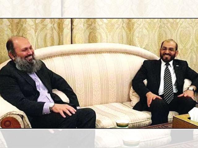 وزیر اعلیٰ بلوچستان کی ماسکو میں بلوچ رہنما ڈاکٹر جمعہ مری سے ملاقات، وفاقی حکومت کی جانب سے تعاون کی یقین دہانی۔ فوٹو: ایکسپریس