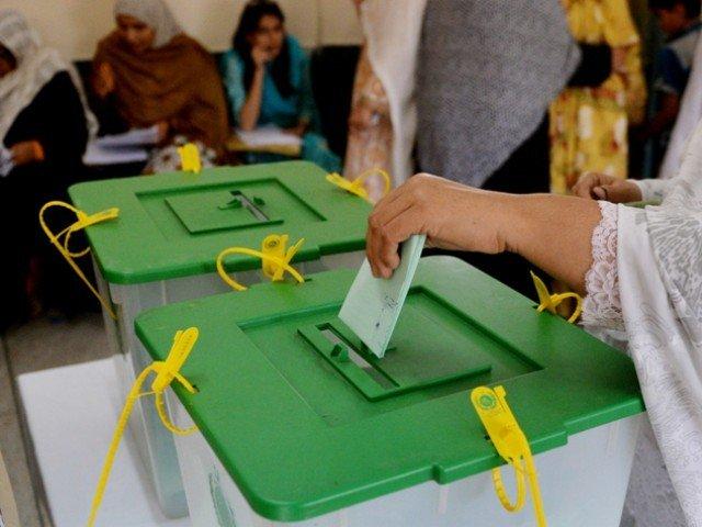 الیکشن کمیشن کی جانب سے حلقے کے تمام پولنگ اسٹیشنز کو انتہائی حساس قرار دیا گیا تھا۔  فوٹو: فائل