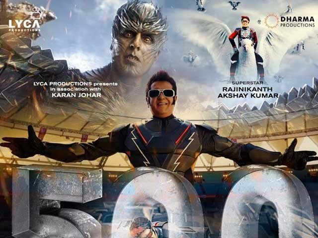 فلم '2.0'کے ہندی ورژن نے ریلیز کے پہلے ہفتے میں 132 کروڑ سے زائد کمائے، بھارتی تجزیہ نگار   فوٹوٹوئٹر
