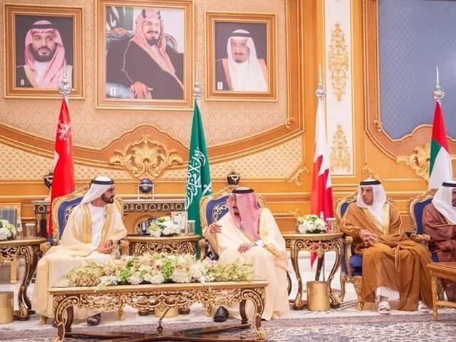 ایران خطے میں امن کے لیے خطرہ ہے، شاہ سلمان فوٹو : سعودی نیوز ایجنسی