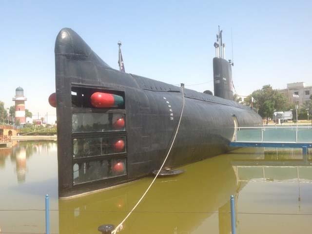 ہنگور نے ایک بھارتی بحری جہاز کو تباہ اور دوسرے کو ناکارہ بنایا تھا۔ فوٹو : فائل