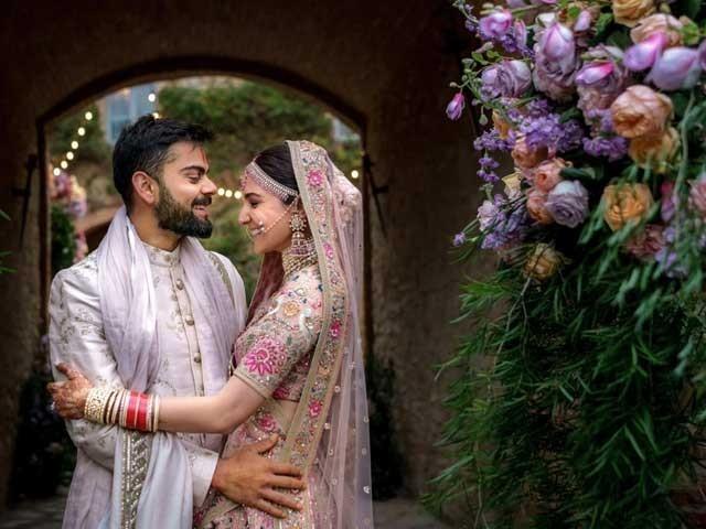 اسٹار جوڑی نے شادی کی پہلی سالگرہ پر ایک دوسرے کو مبارکباد دی فوٹوٹوئٹر